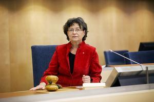 Rikdagsledamot Susanne Eberstein (S) från Sundsvall.