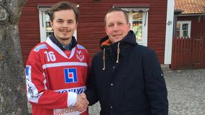 Fredrik Rydberg och Björn Forsberg, Västanfors.