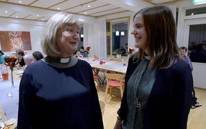 Gudrun Nettelvik och Hilma Andersson, diakoner i Sundsvalls församling, stod bakom arrangemanget.
