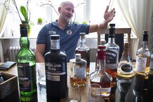 Håkan Dahlberg tänker på whisky alla dagar. Men så är han också mannen bakom landets överlägset största whiskyblogg.