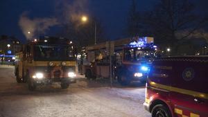 Räddningstjänsten ryckte strax efter klockan 16 på torsdagen ut till Coop Extra i Fagersta.