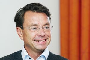 Jan-Olof Backman, ordförande i Höga Kusten Flyg.