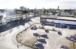 Tar några år. Här ska det byggas bostäder – men hela området kommer inte att vara färdigbyggt förrän om 15 år. Foto: Kenneth Hudd