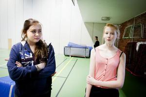 Eleverna och Emma Danielsson och Michaela Salmons tycker att Facebook-gruppen har gett bättre sammanhållning i klassen.