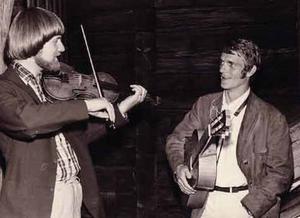 Björn Ståbi och Torgny Björk, när visan mötte spelmansmusiken.