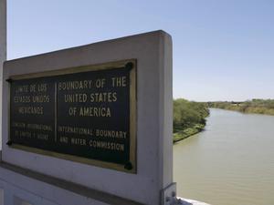 Rio Grande – gränsen mellan USA och Mexiko.   Foto: Helena Gustavsson/TT