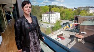 Sanna Fritz jobbade tidigare på förskolan nedanför stadshuset. Nu basar hon för förskoleverksamheten inom Södertälje kommun.