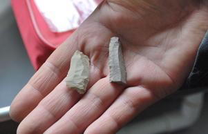De här stenflisorna är inte unika i sig själva - men tillsammans med fynd i Ryssland och Norge sätter de Leksand på en helt ny plats i den arkeologiska världshistorien.