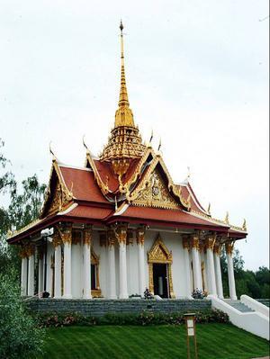Kung Chulalongkorns paviljong i Utanede kräver ett långsiktigt underhåll, förklarar Hans Lundqvist som hade stora förhopningar att den nu inställda resan nu skulle ge öppningar.