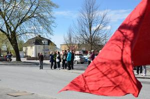 Första maj-firande i Hällefors 2011.