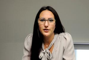 Johanna Talus, vice ordförande i studentkåren
