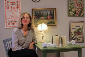 Samantha Ohlanders, rikskänd musiker, har valt att bo kvar i Järvsö.