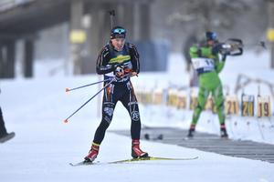 Daniel Gustafsson, Östersund, tvåai distanstävlingen.
