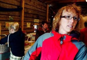Petra Palmqvist håller ihop arbetslaget som ser till att bordet dignar av kakor varje år.