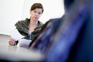 Kerstin Erlandsson, ordförande för Vårdförbundet Dalarna.