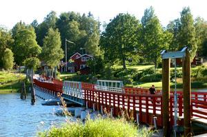 Gagnefs flottbro är ett efterfrågat turistmål. Foto: Arkiv.