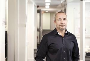Jörgen Leding, enhetschef för Migrationsverkets mottagningsenhet i Jämtland