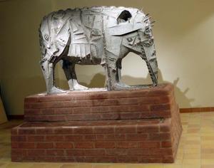 Elefantgristapiren färdig på Norrtullskolan.