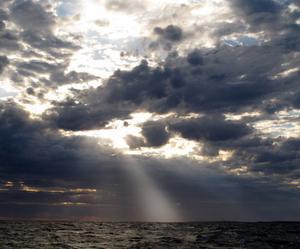 ...och då öppnar himlen sig.