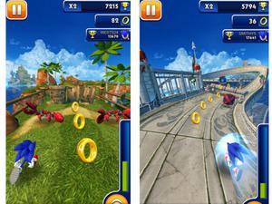 Inbjudande atmosfär, välkända ljudeffekter och enformig musik i Sonics senaste spel.