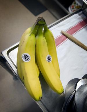 Vägvisare. Kravmärkta frukt och grönsaker har fått lägre priser.        Foto: VLT:s arkiv
