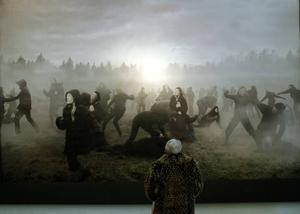 """""""Till mamma, pappa och mina två bröder"""". Fotografisk bild av modernt socialt slagfält, av Aida Chehrehgohsa."""