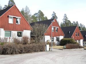 Kedjehus i Hälsingberg från 1970-talet, Falun.
