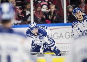 Ingen kul dag för Markus Lauridsen och Johan Olofsson i Växjö.