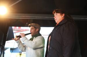 Kaukning inledde Åre höstmarknad. Den vackra sången går att uppleva både på lördag och söndag.