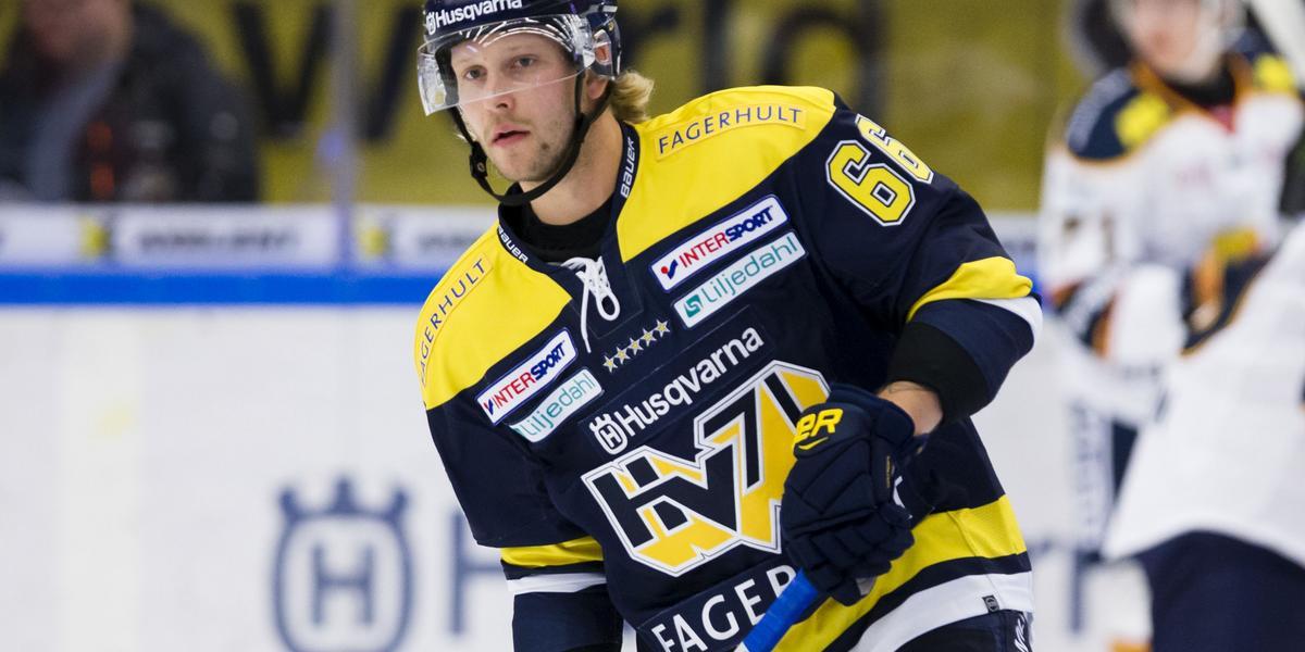 """Ytterell vänder hem till Småland: """"Har saknat HV71"""""""