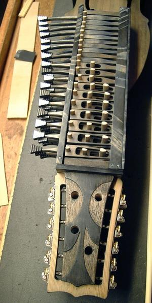 Allan Lund-qvists senaste nyckel-harpa är en praktfull pjäs.