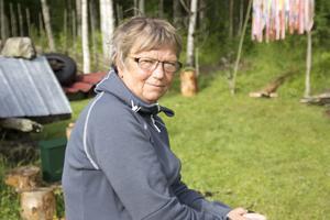 Mia Bucht hoppas att många barn kommer till Finnskogsmuseet och besöker Trollmorsstig i sommar.