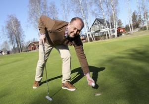 - Vi öppnar Dalsjö golfbana så fort vi kan, säger Tony Mullborn.