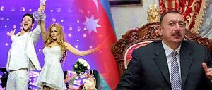 Duon Ell & Nikkis seger i schlager-EM 2011 skapade ett gyllene pr-tillfälle för Azerbajdzjan. President Ilham Aliyevs regim kritiseras av Human Rights Watch.