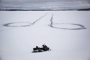Snoppen på Svegssjön är riktad mot ...  Sveg.