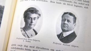 I december 1899 bildades bolaget AB Nynäs villastad och blev grunden till det samhälle som skulle växa fram. Bakom bolaget stod bland annat professor Hjalmar Sjögren på Nynäs gods. Fotografierna på honom och frun Anna Nobel finns i prosten Axel Quists bok