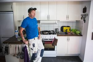 Före detta missbrukaren Stefan Karlssons liv tog en ny vändning när han fick hjälp genom Gunno Zetterkvists stödboende.