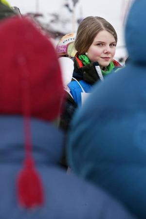 """Sunes flickvän Sofie spelas av Kajsa Halldén. Innan filmerna om Sune var Kajsa med i långfilmen """"Superhjältejul"""""""
