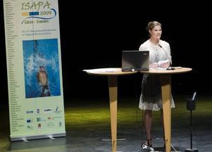 Kronprinsessan var i Gävle hela dagen i går när Ifapas konferens inleddes i konserthuset. Hon invigde konferensen och åt lunch på högskolan.