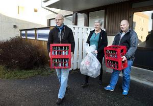 Gullan är en av de flitigaste givarna i Välgörenhetspanten.