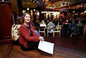 Foto:GUN WIGH Upprörd förälder. Lillemor Eklund är nybliven ordförande i den föräldraförening som bildades på söndagen.