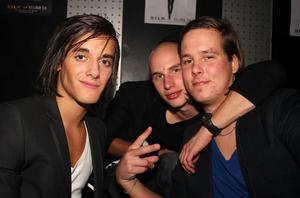 Silk. Sebastian, Simon och Stefan
