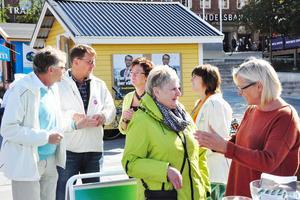 Både norska och svenska centerpartister hade mycket att diskutera, främst järnvägsfrågor.