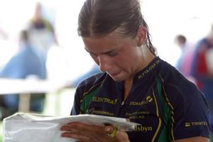 Alftas Sofia Törnqvist ligger på 41:a plats efter tre etapper.