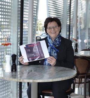 Susanne Wernersson är chef för Hotel Baltic. Hon är glad över den uppmärksamhet som glasverandan fått, nu senast en kinesisk tidning.