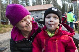 Ulrica och Olle Rindstig hade åkt från Rödön för att delta i den årliga julmarknaden.