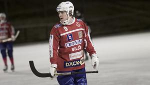 Andreas Hjulström gjorde ett av VIF:s mål i bortaförlusten mot Ljusdal.