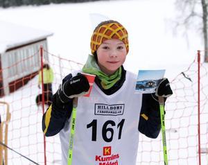 13-åriga Julia Andersson från Häverödals SK stod för en riktigt imponerande prestation i motionsloppet över 21 kilometer. Julia hade många vuxna efter sig i spåret...