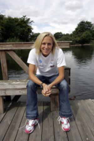 Kajsa Bergqvist har gjort en stark comeback och är mycket hopfull inför fortsättningen av höjdsäsongen.