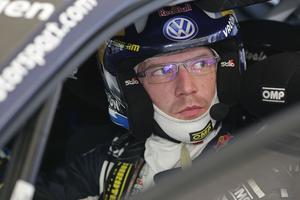 Jari-Matti Latvala siktar mot tredje raka i hemmarallyt.